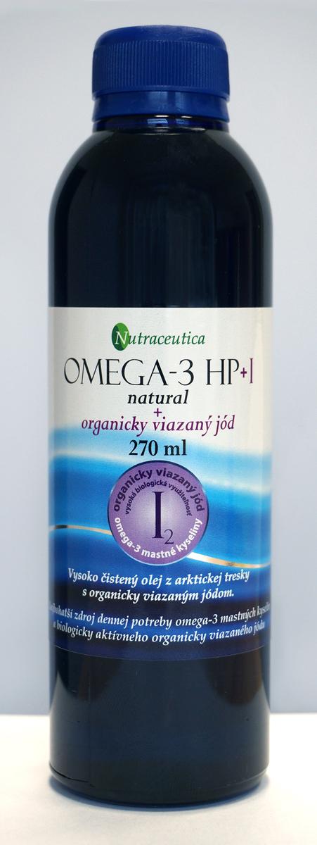 Rybí olej s organicky viazaným jódom